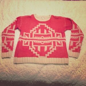 Forever 21 tribal sweater small